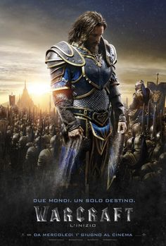 Esce il prossimo 2 giugno 2016 nelle sale cinematografiche italiana Warcraft – L'Inizio, pellicola prodotta da Legendary Pictures e Universal Pictures ispirata all'omonimo famoso videogioco del 1994 della Blizzard Entertainment. Il film, diretto da Duncan Jones, vuole essere un adattamento cinematografico del primo capitolo della saga fantasy, #Warcraft: Orcs&Humans. Prima di passare a scoprire i protagonisti di questa emozionante avventura diamo uno sguardo al trailer.