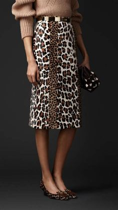 what to wear with a leopard print skirt - Ecosia Gonna Con Immagini  Stampate Di Animali 9691003a6989