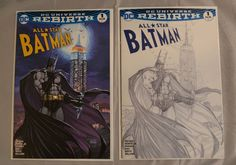 ALL STAR BATMAN 1 ASPEN MICHAEL TURNER COLOR VARIANT NM
