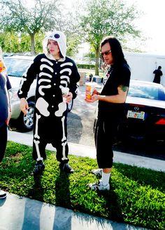 Gerard Way and Bert McCracken.