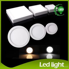 Dimmable 9w 15w 21w Led Panel Lamp Round/Square Led Panel Light Surface Mounted Led Downlight Lighting Led Ceiling Down Light + Drivers From Cnmall, $8.22 | Dhgate.Com  I bought ten minimum, for trial. Please see that I condemn this light as not ready for USA sales. Beware offered color temperatures. Buy only Warm White. Others are too blue.  http://energyconservationhowto.blogspot.com/2015/09/review-dhgate-9-watt-round-dimmable-led.html