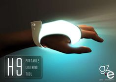 Luminous Gloves   The H9 Portable Palm Lighting Tool