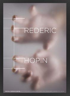 Chopin Festival Poster   Marcos Minini