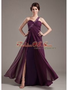 Appliques With Beading Decorate Bodice Brush Train Burgundy Chiffon 2013 Prom Dress- $153.26  http://www.fashionos.com   column prom dress | brush train prom dress | 2013 prom gowns | quince dresses | you tube sweet sixteen dresses | landa designs sweet 16 dresses | quince dress code |