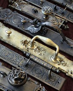 Victorian, Art Deco, and Arts and Crafts Door Hardware. Vintagehardware. Reproduction. Recreated. Gothic. Decorative.