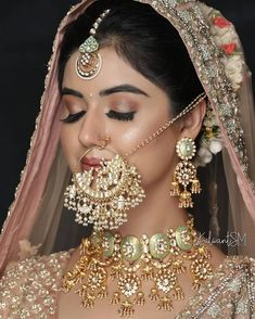 Bengali Bridal Makeup, Indian Wedding Makeup, Indian Wedding Bride, Indian Bridal Outfits, Indian Bridal Fashion, Bridal Makeup Looks, Desi Wedding, Bridal Looks, Bridal Style