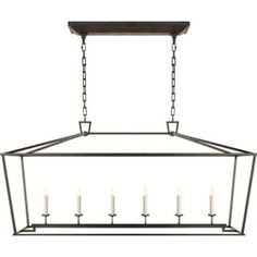Check out the Visual Comfort CHC2166 Darlana 6 Light Linear Pendant priced at $1,259.90 at Homeclick.com.