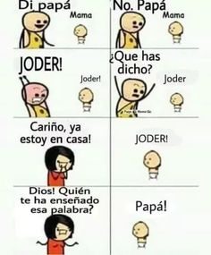 (notitle) The post (notitle) & Chistes appeared first on Memes . Funny Spanish Memes, Spanish Humor, Stupid Funny Memes, Mexican Memes, Card Captor, New Memes, Funny Pictures, Anime, Hispanic Jokes