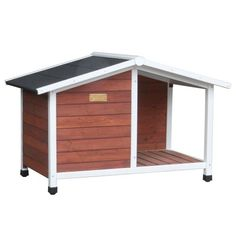Advantek The Ranch House Dog House *** Find out more details by clicking the image : Dog cages Wood Dog House, Small Dog House, Dog House Bed, Plastic Dog House, Large Dog Crate, Dog Cages, Niches, Pet Gear, The Perfect Dog