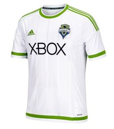The best way to show your support for the Seattle Sounders FC is with this Secondary Replica jersey from adidas! Let everyone know that the Seattle Sounders FC is your favorite team, now and always. Nfl Denver Broncos, Broncos Fans, Soccer Kits, Football Kits, Xbox, Fc 1, Seattle Sounders, Adidas Originals Mens, Sports Fan Shop