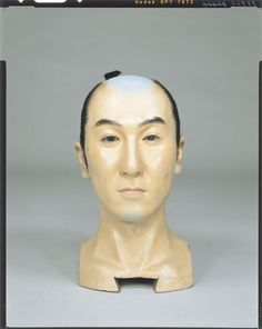 Raw doll _ Momoyama period daimyo appearance Tokyo National Museum Image ID:C0098423 Shooting site:Front Column article number:I-1109 Author:Yasumoto Kamehachi Age:Meiji era _20c shape:High 33.3