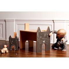 NoToys - Table ardoise en forme d'animal