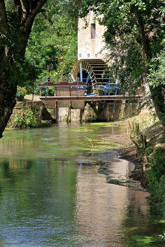 Beaurainville watermill - Pas-de-Calais dept. - Nord-Pas-de-Calais région, France