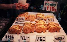 taiyaki fish waffles