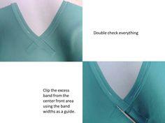 Knit Neckline
