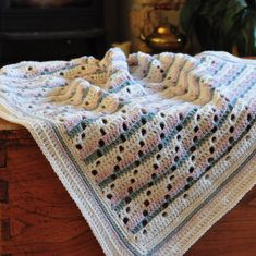 Soft Steps Blanket – Free Crochet Pattern – HanJan Crochet