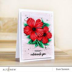 Altenew Build-A-Flower: Peony Blossom | Erum Tasneem | @pr0digy0