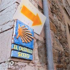 Soto del Barco. El Castilo #Camino #Santiago #Asturias