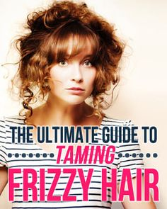 How To Style Frizzy Hair For Those Of You Who Didn't Know This I Happen To Have Extremely