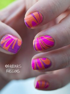 How to do marble manicures water marble nail art water marble summer water marble nails prinsesfo Image collections