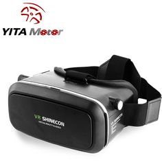 """Shinecon VR 2.0 3D BOX Google Virtual Reality Headset 3D Movies Games Glasses For Smartphone 3.5-6.0"""". Great supplement and extending device of the network set-top box. Wonderful experience of watching movies and playing games. Super 3D picture effect and wonderful feeling. Adjustable pupil distance and sight distance, satisfying different groups of people. Enjoy private visual feast comfortably and convenient to use. Enjoy at anytime or anywhere, no need of any software. Great companion…"""