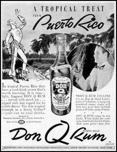 1938 Don Q rum ad.