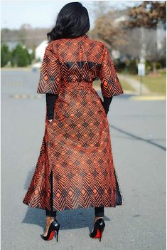 Discover recipes, home ideas, style inspiration and other ideas to try. African Maxi Dresses, African Fashion Ankara, Latest African Fashion Dresses, African Dresses For Women, African Print Fashion, African Attire, African Wear, Kimono Fashion, Fashion Outfits