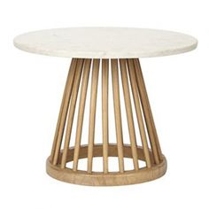 table basse fan tom dixon 60 chene naturel