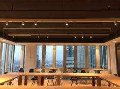 XAL lighting fixtures Minyon track with Timo LED for project 'The Rotterdam' from architect Rem Koolhaas
