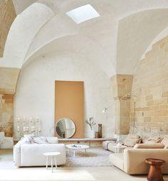 vivir en un antiguo molino italiano: salón