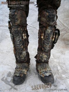 Post-Apocalyptic Armor | Post Apocalypse armour for LARP & Airsoft. SALVAGED Ware by Mark ...