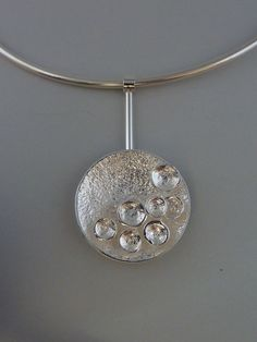 Just lovely! Reticulated silver and artclay silver, Anita Braat-Hopstaken, Passions Jewellery design