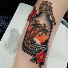 225 Palm Tree Tattoo Designs That Remind You Of The Beach tattoo tattoo tattoo tattoo tattoo nature wilderness tattoo tattoo tattoo Tree Sleeve Tattoo, Tree Tattoo Back, Sleeve Tattoos, Nautical Tattoo Sleeve, Old School Tattoo Designs, Tree Tattoo Designs, Tattoo Designs And Meanings, Traditional Tattoo Beach, Traditional Tattoo Old School