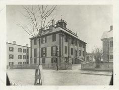 The Shirley-Eustis House, Roxbury, Massachusetts  Photo-- perhaps late 1800s, early 1900s