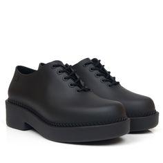 Sapato Melissa Grunge Preto - Compre Online - BlackBoots