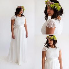Vestido De Noiva Em Musseline E Renda Plus Size Boho Chic - R$ 1.890,00 no MercadoLivre                                                                                                                                                                                 Mais