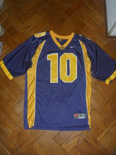 93f3e5c47 MARSHAWN LYNCH CAL BEARS UC BERKELEY FOOTBALL BLUE JERSEY  10 MEN S NIKE  LARGE L