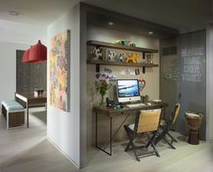 funky home office. Collaborate And Listen Station Industrial Office Design Ideas, Pictures, Remodel Decor Funky Home Z