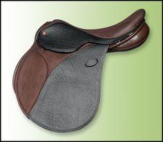 The buffalo skin Arabian Saddle Company hunt saddle is a must have! Jumping Saddle, English Saddle, Saddles, Horse Stuff, One Pic, Equestrian, Horses, Tack, Buffalo