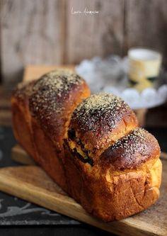 Kürbis-Kuchen mit Details