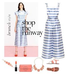 """""""Shop the runway,and head to brunch"""" by im-karla-with-a-k on Polyvore featuring Anne Klein, MAC Cosmetics, Tory Burch and Dorothy Perkins"""