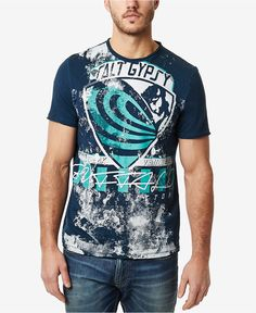 Buffalo David Bitton Men's Naviz Graphic-Print T-Shirt - T-Shirts - Men - Macy's