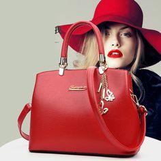 women bag luxury handbags women bags designer bolsa feminina 2016 Fashion Women Messenger Bags PU Leather Female Bag Tote