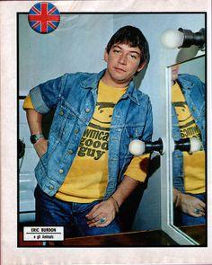 "bus-stop-stop-stop: ""Eric Burdon of The Animals c. San Francisco At Night, Eric Burdon, Fade Away, British Invasion, Music Icon, Jimi Hendrix, My Favorite Music, The Beatles, Rock And Roll"