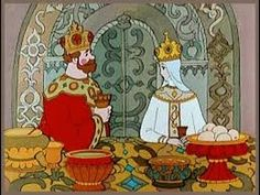 """""""The Tale of Tsar Saltan""""- Classic Russian Fairy Tale by Pushkin (for English subtitles you might need to click the settings during playback). Russian Cartoons, Old Cartoons, Wonderful Picture, Bedtime Stories, Great Pictures, Wall Collage, Art Inspo, Mythology, Fairy Tales"""
