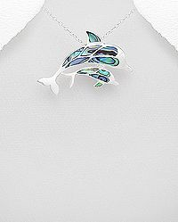 Cute Dolphin Pendant