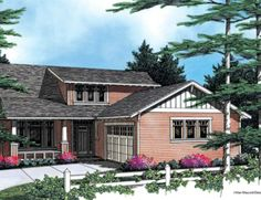 One of my favorite home designs: Mascord Plan 22101A - The Pembrooke