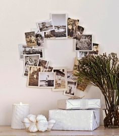While seasonal wreath shopping is one of our favorite forms of retail therapy, there's a certain satisfaction that comes with creating your own. These DIY versions use unexpected materials that feel more festive than seasonally specific.