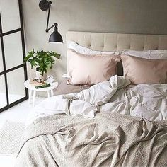 Get perfectly rumpled. | 19 Deliciously Messy Beds You'll Want To Crawl Into Right Now