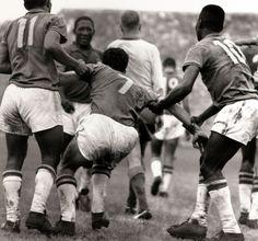 Soccer, WM, 1958, WorldCup, Brazil, Garrincha, Zagallo, Pele, Finale